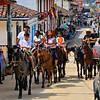 Solento street - horses are common