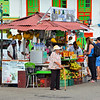 Juice stand in Solento town square
