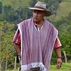 Man in Valle del Cocora