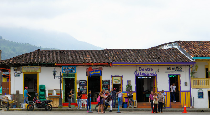 Life in the Solento town square