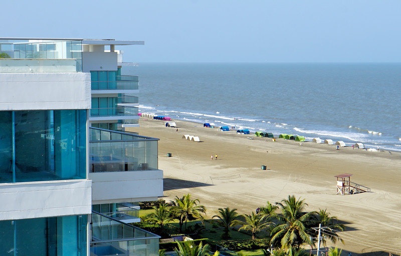 Cartagena condo beach view