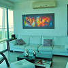 Cartagena condo living room