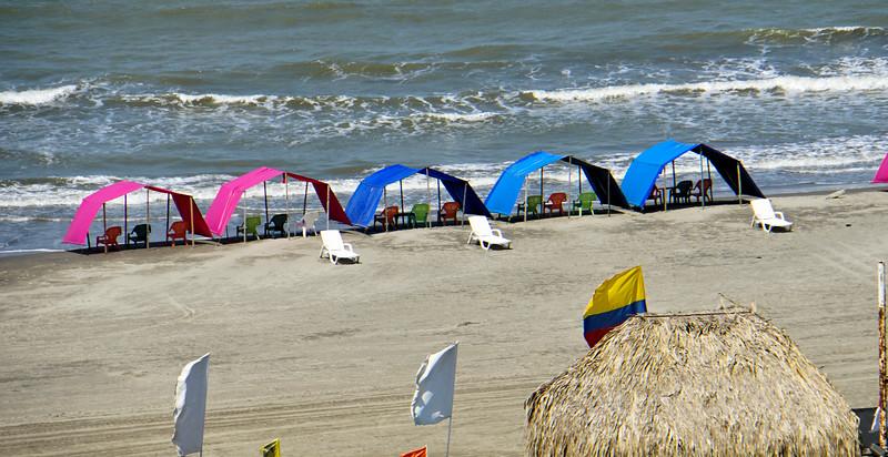 Cartagena beach bungalows