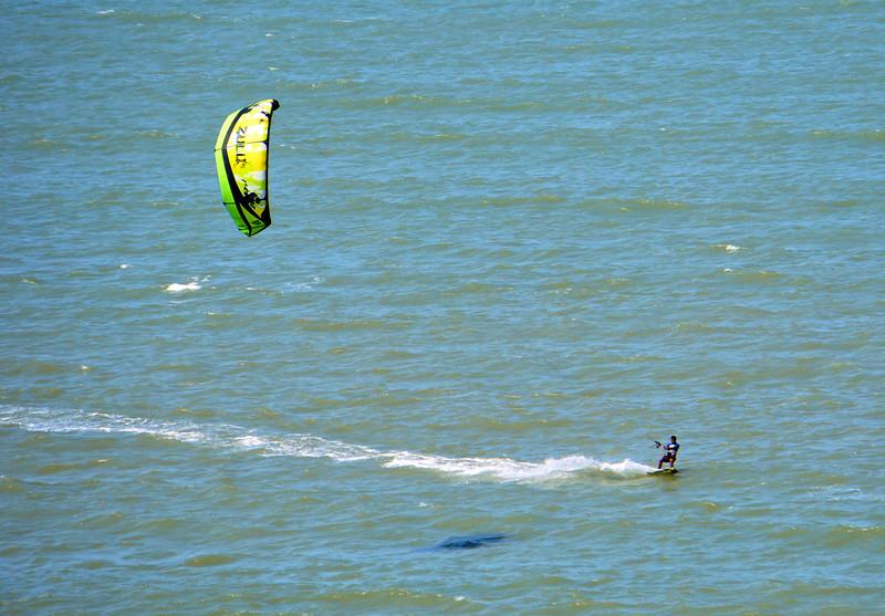 Kite surfer in Cartagena