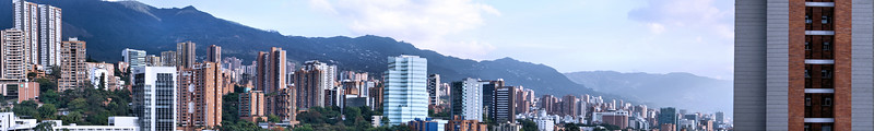 View from our Medellín balcony