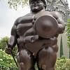 Botero sculpture in Botero Plaza