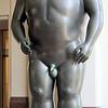 Botero sculpture of Adam in Museo de Antioquia