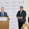 Harold Poor offers remarks on behalf of Orange County Executive Steven Neuhaus as Cornerstone unveils major healthcare facility upgrade on Thursday, March 21, 2019. Hudson Valley Press/CHUCK STEWART, JR.
