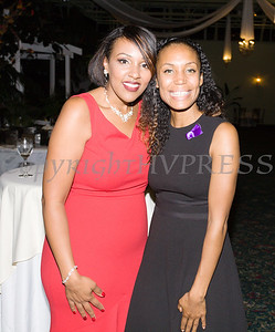 Sarita Green with Fearless! (Safe Homes of Orange County) honoree Kristen Feden Gibbons at the 33rd Anniversary and Celebration of Hope Gala on Friday, October 25, 2019. Hudson Valley Press/CHUCK STEWART, JR.