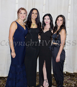 Kellyann Kostyal-Larrier, left, with Fearless! (Safe Homes of Orange County) honoree Indigo Salon at the 33rd Anniversary and Celebration of Hope Gala on Friday, October 25, 2019. Hudson Valley Press/CHUCK STEWART, JR.