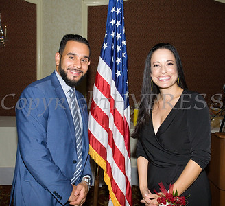 Carlos Alicia, Jr. and Gisela Gomez (also De Hoy Honoree) were representing M&T Bank at Latinos Unidos of the Hudson Valley 18th Anniversary and its 14th Annual Hispanic Heritage Cultural Celebration at Anthony's Pier 9 in New Windsor, NY on Friday, November 1, 2019. Hudson Valley Press/CHUCK STEWART, JR.