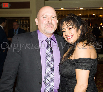 Taran Provost, Esq. and Ivelisse (Dazzle Makeup Artists Group) were on hand for Latinos Unidos of the Hudson Valley 18th Anniversary and its 14th Annual Hispanic Heritage Cultural Celebration at Anthony's Pier 9 in New Windsor, NY on Friday, November 1, 2019. Hudson Valley Press/CHUCK STEWART, JR.