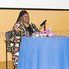 Human Rights advocate Loretta Ross spoke at SUNY Orange with PPMHV's Healthy Black and Latinx Coalitions about a variety of subjects including white supremacy and the intersectionality of social justice issues on Saturday, May 4, 2019. Hudson Valley Press/CHUCK STEWART, JR.