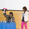 Planned Parenthood Mid-Hudson Valley Director of Diversity, Inclusion & Community Engagement Lana Williams-Scott thanks Human Rights advocate Loretta Ross (seated), who spoke at SUNY Orange with PPMHV's Healthy Black and Latinx Coalitions about a variety of subjects including white supremacy and the intersectionality of social justice issues on Saturday, May 4, 2019. Hudson Valley Press/CHUCK STEWART, JR.