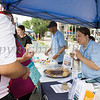 RECAP representatives handed out information about their many programs, and cookies, during the all-free National Night Out event that took place in the City of Newburgh on Tuesday, August 6, 2019. Hudson Valley Press/CHUCK STEWART, JR.