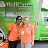 WellCare representatives were on hand with health information during the all-free National Night Out event that took place in the City of Newburgh on Tuesday, August 6, 2019. Hudson Valley Press/CHUCK STEWART, JR.