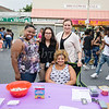 Safe Homes of Orange County representatives were on hand with information during the all-free National Night Out event that took place in the City of Newburgh on Tuesday, August 6, 2019. Hudson Valley Press/CHUCK STEWART, JR.