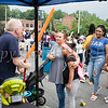 There was a long line for the animal balloons during the all-free National Night Out event that took place in the City of Newburgh on Tuesday, August 6, 2019. Hudson Valley Press/CHUCK STEWART, JR.