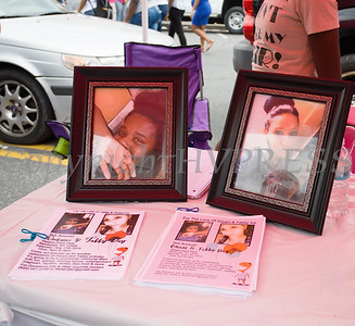 Information about the 3rd Annual Omani and Tabby Day happening on August 17 was available during the all-free National Night Out event that took place in the City of Newburgh on Tuesday, August 6, 2019. Hudson Valley Press/CHUCK STEWART, JR.