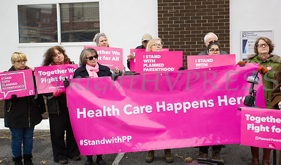 Planned Parenthood Mid-Hudson Valley held a press conference on Sunday, January 27, 2019 to thank politicians. Hudson Valley Press/CHUCK STEWART, JR.