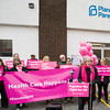 Planned Parenthood Mid-Hudson Valley President and CEO, Ruth-Ellen Blodgett thanks elected officials for their legislative support during a press conference on Sunday, January 27, 2019. Hudson Valley Press/CHUCK STEWART, JR.