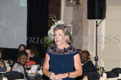 Linda S. Muller, President & CEO Cornerstone Family Healthcare offers remarks during the 20th Annual Pillars of the Community Gala held at Anthony's Pier 9 on Saturday, November 2, 2019. Hudson Valley Press/CHUCK STEWART, JR.