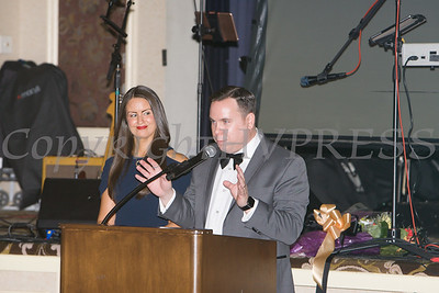 Lisa and Josh Sommers were the Masters of Cermonies for Cornerstone Family Healthcare's 20th Annual Pillars of the Community Gala held at Anthony's Pier 9 on Saturday, November 2, 2019. Hudson Valley Press/CHUCK STEWART, JR.