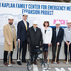 "St. Luke's Cornwall Hospital hosted a ""wall breaking"" and kick off ceremony to celebrate the beginning of the Kaplan Family Center for Emergency Medicine Expansion Project on Tuesday, March 12, 2019. Hudson Valley Press/CHUCK STEWART, JR."