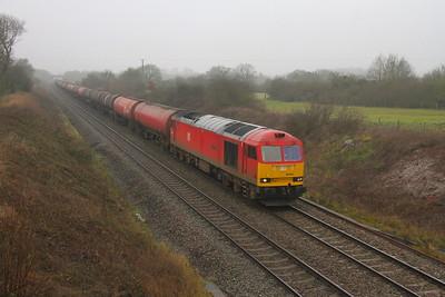 60044 Newbury 31/12/19 6A11 Robeston to Theale