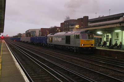 60055 Eastleigh 10/12/19 6Z90 Southampton Up Goods Yard to Westbury
