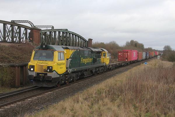 70011 Battledown 06/12/19 4O90 Leeds to Southampton
