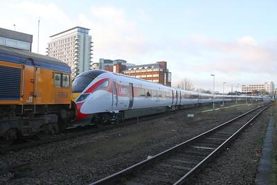 801215 Basingstoke 23/12/19 5X98 Eastleigh to Acton
