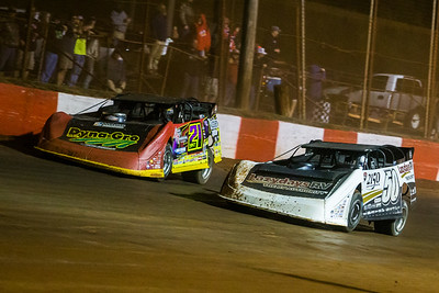 Shanon Buckingham (50) and Billy Moyer, Jr. (21JR)