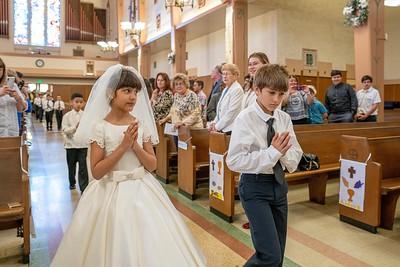 190511 Incarnation 1st Communion_10am Mass-17
