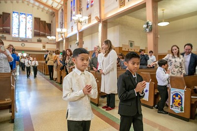 190511 Incarnation 1st Communion_10am Mass-19