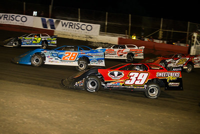 Brian Shirley (3S), Dennis Erb, Jr. (28), Freddie Carpenter (K), Tim McCreadie (39) and Brandon Overton (2)