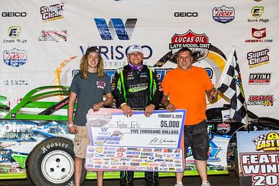 Colbey Richman (L), Tyler Erb (C) and Randall Edwards (R)