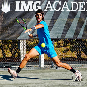 01.05. Thiago Agustin Tirante - Eddie Herr at IMG Academy 2019