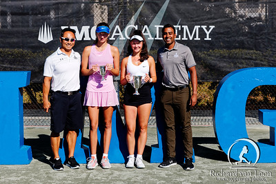 01.04. Finalist Jana Kolodynska and winner Eva Lys - Eddie Herr at IMG Academy 2019