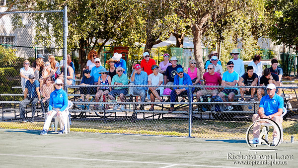 01.08. Watching a great match - Eddie Herr at IMG Academy 2019