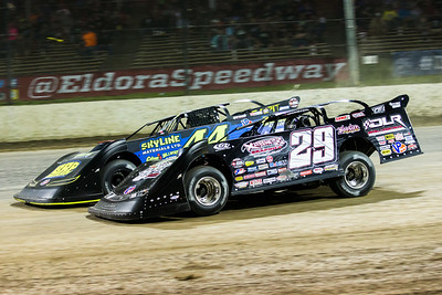 Darrell Lanigan (29) and Chris Madden (44)