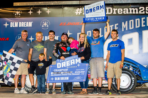 Brandon Sheppard and family/crew