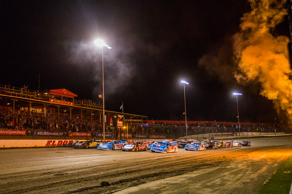 Four wide salute