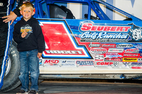 Brandon Sheppard's son Jase