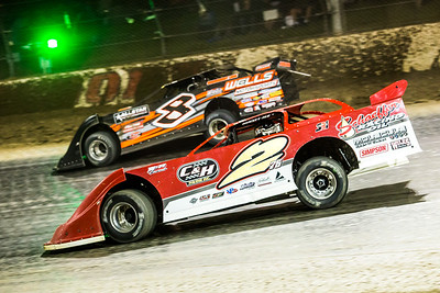 Brandon Overton (2) and Kyle Strickler (8)