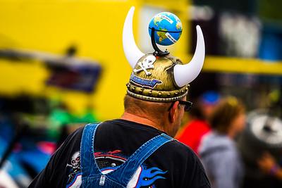 Eldora Speedway race fan
