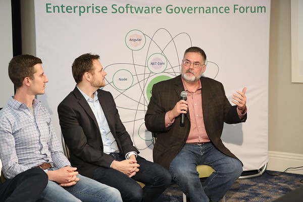 Enterprise Software Governance Forum @stephenfluin @mgechev @wnodom
