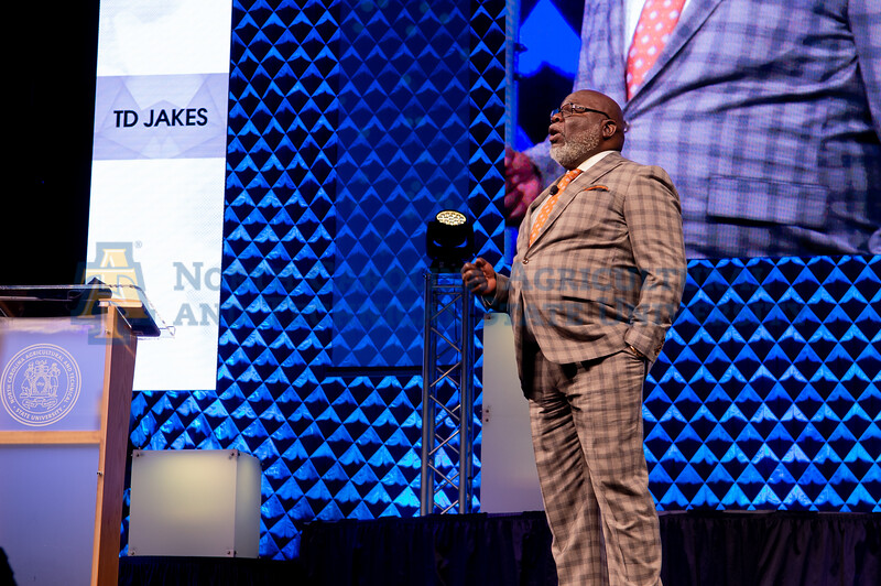 TD Jakes Shares Empowering Message of Resilience for