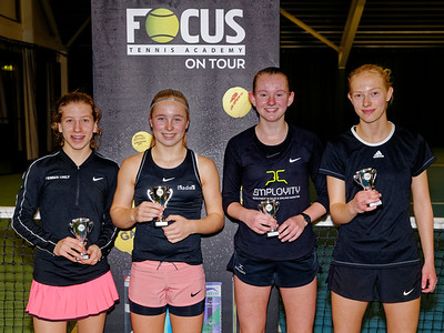 01.06a Finalists girls doubles 16 years - FOCUS tennis academy open 2019
