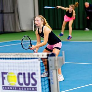 01.06 Sarah van Emst and Isis Louise van den Broek - FOCUS tennis academy open 2019